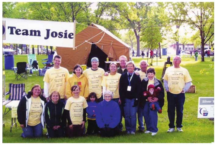 American Cancer Society Relay For Life Team Josie